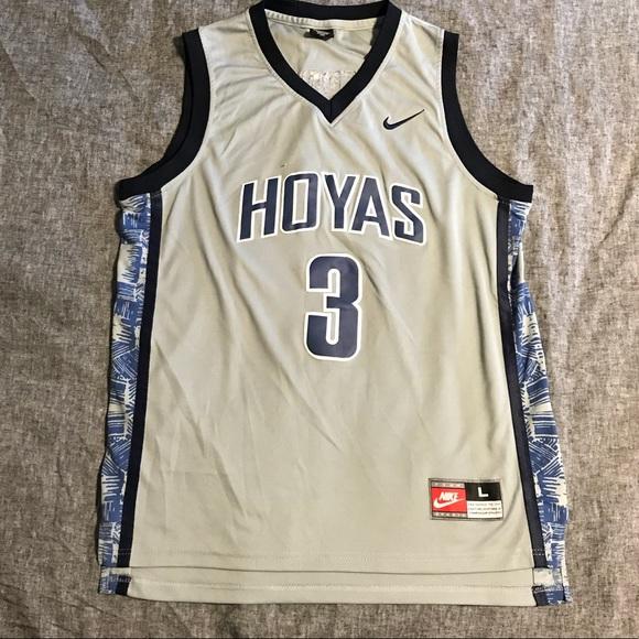 76546b11e Nike Allen Iverson Hoyas Jersey sz L. M_5b4be626aaa5b833ee1d28bf